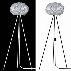 Stehlampe Mit Federn : vita eos lampenschirm grau aus g nsefedern d 45 cm h he 30 cm lampe light grey ebay ~ Sanjose-hotels-ca.com Haus und Dekorationen