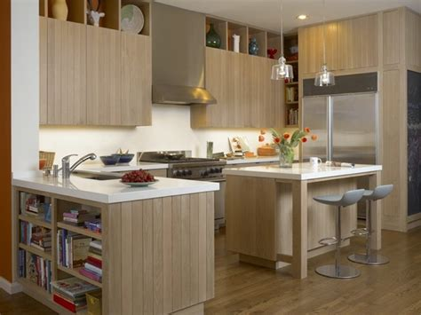 white and oak kitchen cabinets white oak kitchen cabinets and island contemporary 1743