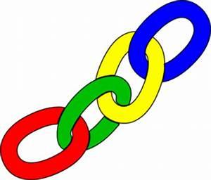 Color Chain Links Clip Art at Clker.com - vector clip art ...