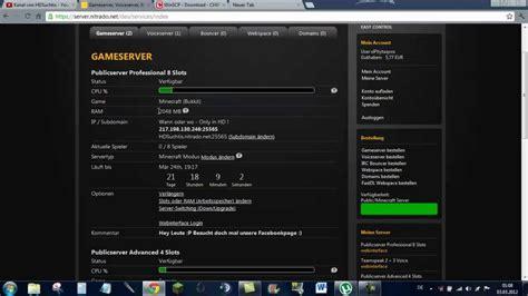 tutorial nitrado server erstellen und verwalten teil