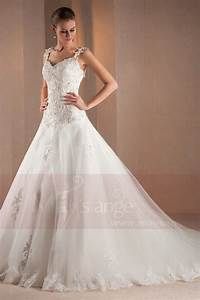 robe de mariee a bretelle idee mariage robe de mariage With robe de mariée 2017 avec bague de mariage