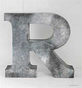 large zinc letter r house of ideas oriental accessories With large zinc letters