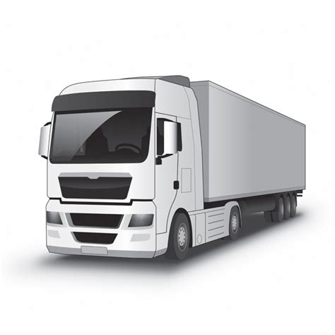 freevector vector delivery truck icon