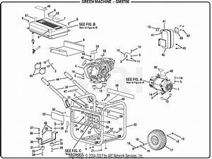 Homelite Gm5700 Series 5 700 Watt Generator Parts Diagram For General Assembly