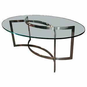 glass and stainless steel dining table by paul le geard at With glass and stainless steel dining table