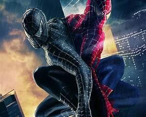 HD Movie Wallpapers: Wallpaper of Spiderman in Black