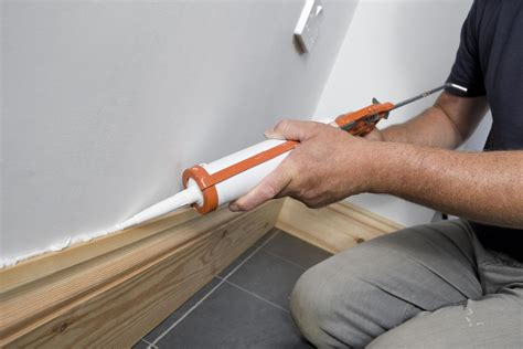 caulking baseboard solutions