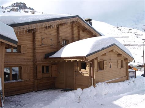 ski chalet l ours brun tignes luxury ski in ski out
