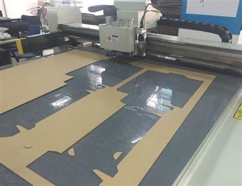 Carton Making Cnc Cutting Table Small Production Making