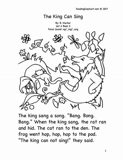 Kindergarten Stories Short Books Phonics Read Story
