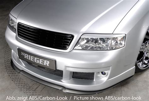 Audi S6 Front by Rieger Abs Fits Audi A6 Typ 4b S6 Look Front Bumper