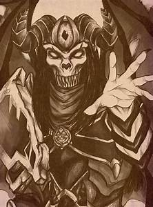 a traditional drawing of n 39 zoth 39 s gift with my