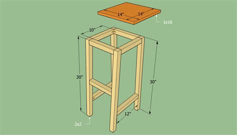 woodwork wooden bar stool building plans  plans