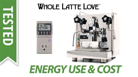 Espresso Machine Energy Usage And Cost