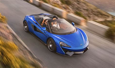 mclaren 570s spider new 196mph sports car price and specs revealed express co uk