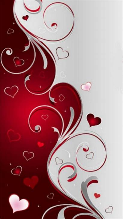 Valentine Iphone Valentines Wallpapers Heart Phone Background