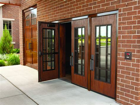 Wood Doors In Exterior Applications  Laforce Frame Of Mind