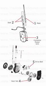 1994 1995 1996 1997 Mercedes Benz Sl320 Antenna Parts  1248201675  1408270001  12982702987c45
