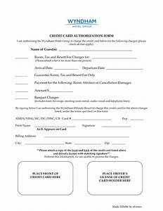 Blank Credit Card Authorization Form Template 33 Credit Card Authorization Form Template Templates Study