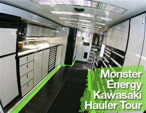 video    monster energy kawasaki factory rig