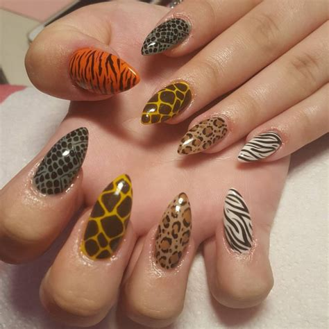 animal print nail art designs ideas design trends