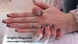 French Manucure Couleur : french manucure gel couleur ~ Nature-et-papiers.com Idées de Décoration
