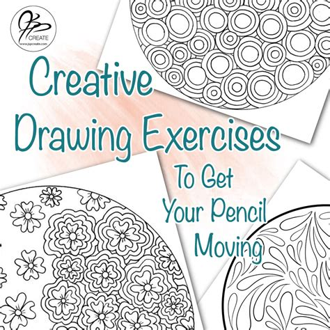creative drawing exercises    pencil moving