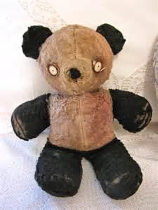 Vintage Stuffed Panda Bear