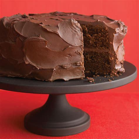 dark chocolate cake  ganache frosting