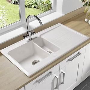 Evier Cuisine Granit : evier de cuisine en granite evier encastrer granit et ~ Premium-room.com Idées de Décoration