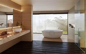 Holz Im Bad : 5 ideen f r mehr luxus im badezimmer zum selbst gestalten ~ Lizthompson.info Haus und Dekorationen