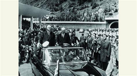 crise de la chaise vide alpes montagne tourisme le tunnel du mont blanc fête