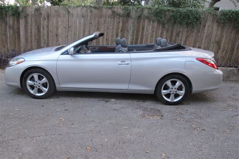 Toyota Solara Convertible For Sale by 2008 Toyota Camry Solara Sle Convertible For Sale Cargurus