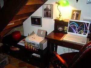 Bureau Sous Escalier : coin bureau photo 3 5 sous l 39 escalier pas de coin perdu ~ Farleysfitness.com Idées de Décoration