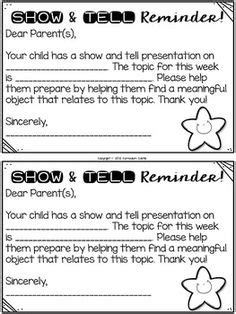 show and tell ideas for the entire year editable 868 | bed2783e92655f3f1c7964083ca9bd20