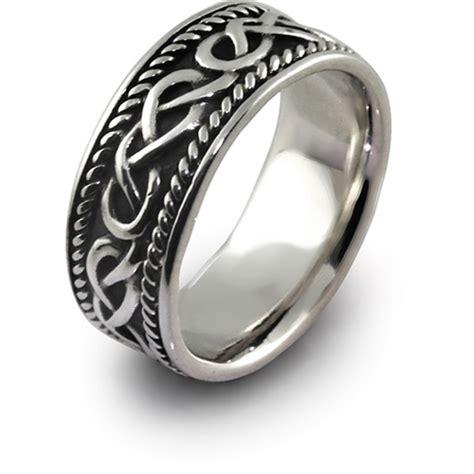 mens celtic wedding rings shm sd1