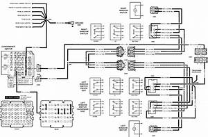 Power Window Switch Diagram