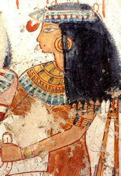 ancient egyptian concept  beauty