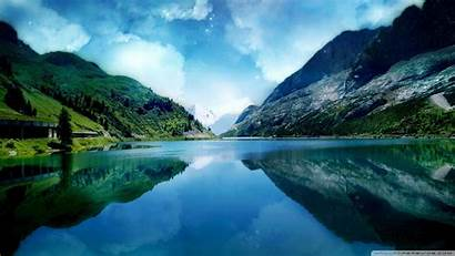 Wallpapers Lake Desktop Scenery Lovely Places Background