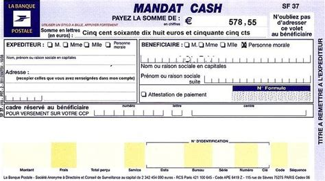 bureau de transfert d argent mandat envoyez de l argent rapidement par la poste