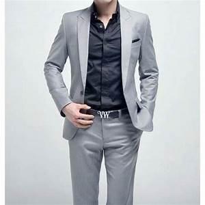 Costume Mariage Homme Gris : costume gris clair homme achat vente costume gris clair homme pas cher cdiscount ~ Mglfilm.com Idées de Décoration