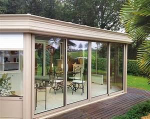 Modele De Veranda : isolation de v randa devis gratuit v randa vitr e i l ~ Premium-room.com Idées de Décoration