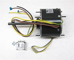 Ac Air Conditioner Condenser Fan Motor 1  5 Hp 1075 Rpm 230 Volts For Fasco D906 696524000383