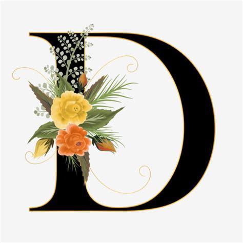 alphabet   flower font   paint floral  leaf