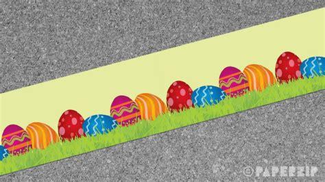 easter border paperzip