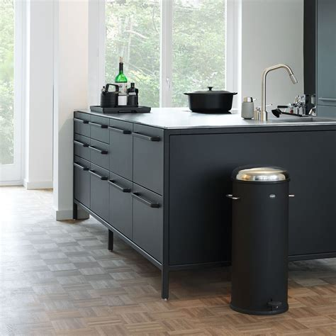 designer kitchen trash cans beautiful kitchen stainless steel trash can kitchen with 6642