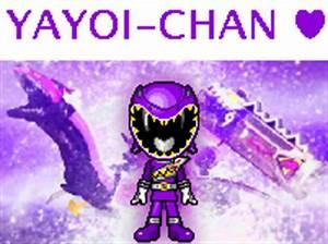 Kyoryu Violet Yayoi version by robinosuke on DeviantArt