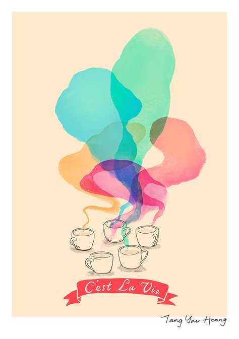 Beautiful Illustrative Wallpapers by Artist Illustrated 18 Quotes With Beautiful Posters