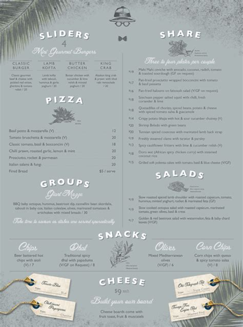 creative restaurant menu design ideas   trick