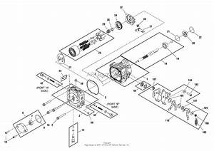 Simplicity 2690487  44 U0026quot  Mower Deck Parts Diagram For Hydraulic
